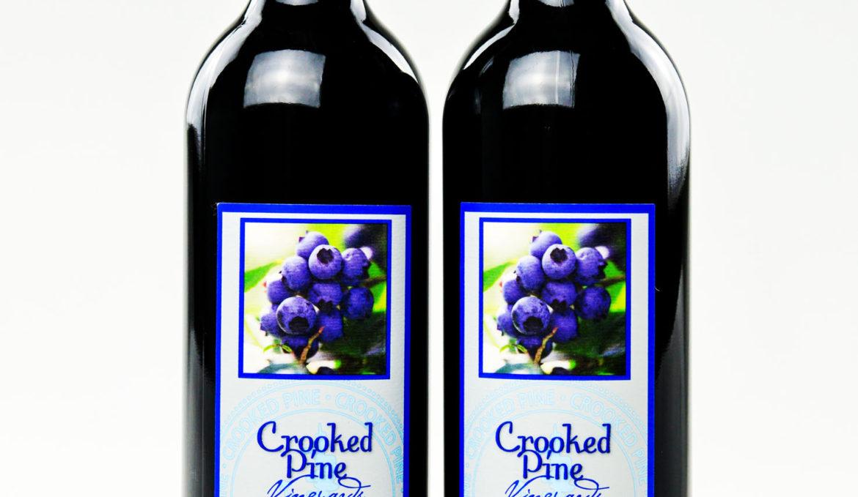 柯诺畔干型蓝莓酒