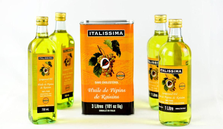 意大利斯玛葡萄籽油 750ml, 1L, 3L