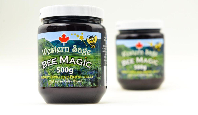 西方圣人蜂魔术蜂蜜 500G