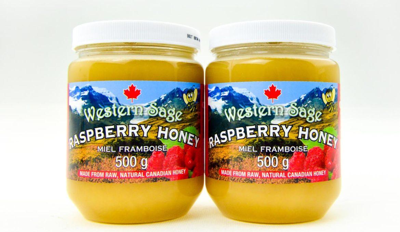 西方圣人树莓(覆盆子)乳状蜂蜜 500g